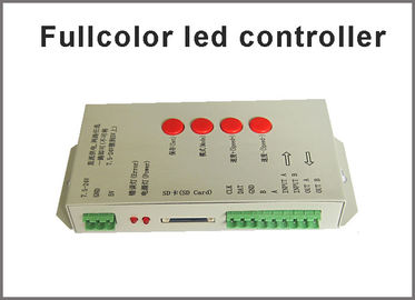 5V-24V farbenreicher LED Prüfer T-1000S für farbenreiche LED Beleuchtungen des farbenreichen LED-Pixels farbenreichen LED Streifens