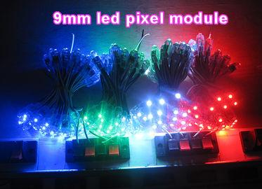 Pixeldekorations-Beleuchtungswerbung der hohen Helligkeit singt die bunte geführte geführte Hintergrundbeleuchtungskanalbuchstaben