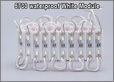 Super helle 5730 2 LED-Modul-dekoratives Licht für die Buchstabe-Zeichen-Werbung, die wasserdichte Fahne des Geschäftes IP68 backlighting ist