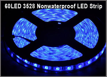 China Des Licht-Band-Bands 3528 Lampada LED hellblaue Farbe des Meters 60LED/DC12V LED für Inneneinrichtungs-Lampe usine
