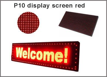 5V P10 führte roten Signage Anzeige semioutdoor 320*160 Bildschirm der Plattenmodulbeleuchtungen