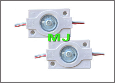 China Modul 1.5w DC12v 3030 Einspritzungs-LED mit 160degree Hintergrundbeleuchtungs-Modullicht der Linse LED distributeur